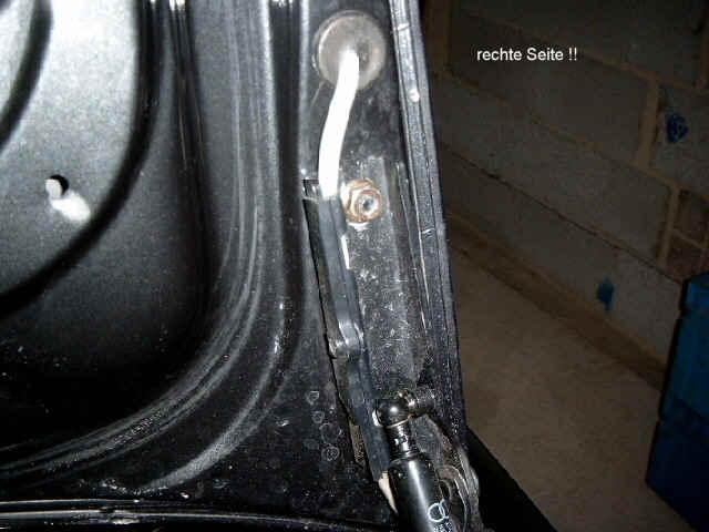 Kabelbaum heckdeckel reparaturtipps for Porte qui ferme mal