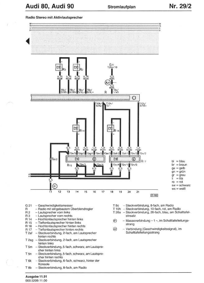 audicabrioinfo iso stecker belegung