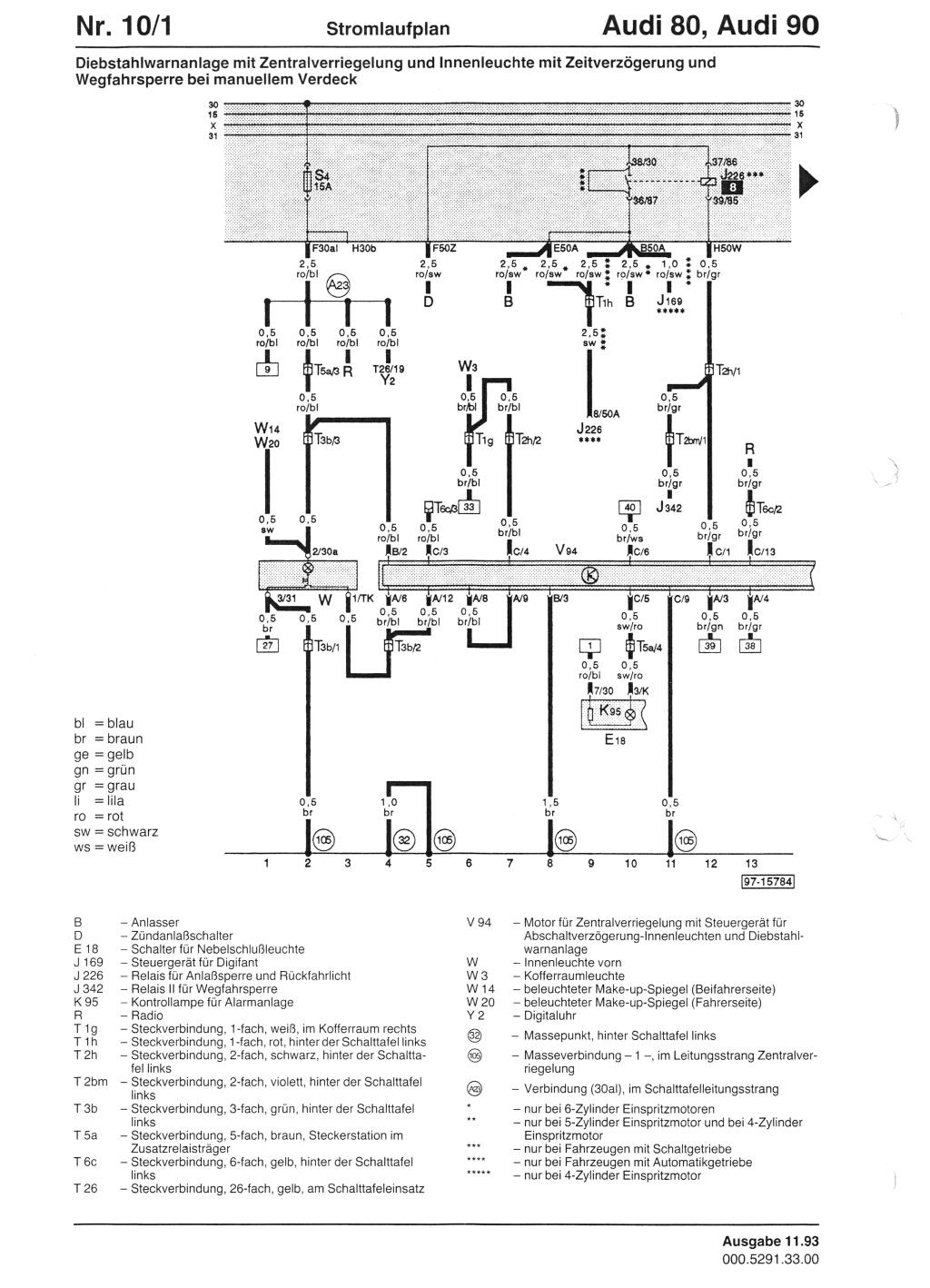 zentralverriegelung zv programmieren. Black Bedroom Furniture Sets. Home Design Ideas