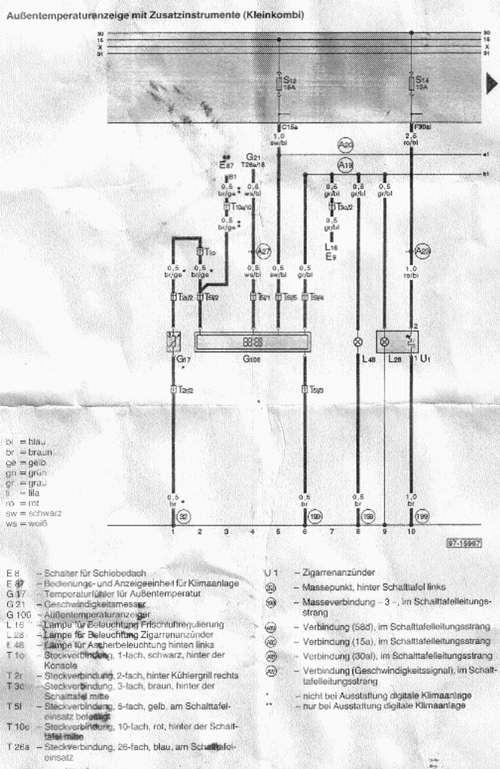 Groß Audi A6 Schaltplan Bilder - Elektrische ...