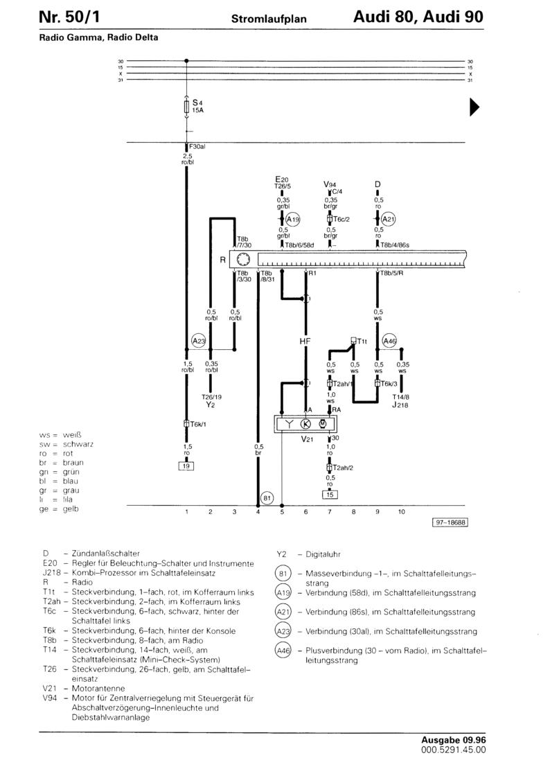 Audicabrio.info - Radio Gamma, Radio Delta - Stromlaufplan incl ...